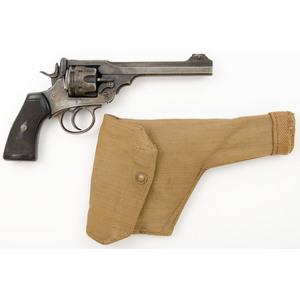 ** Webley Mark VI revolver with Holster