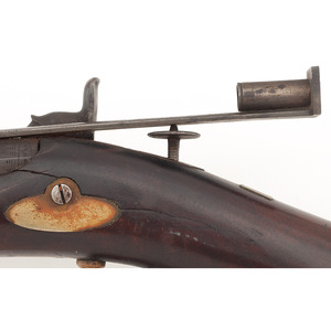 Percussion Target Rifle By J.B.Smith  Norfield Vt