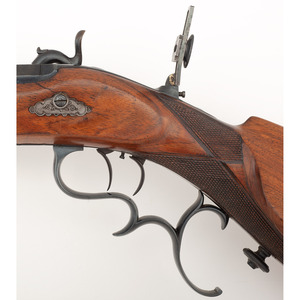 European Percussion Schuetzen  Target Rifle