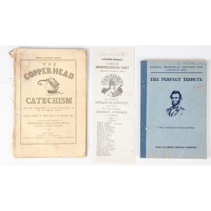 Campaign and Political Pamphlets, 1860-1876, Plus