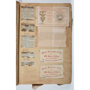 Washington Light Infantry Archive, Incl. Cabinet Card Album Featuring Identified Officers and Enlisted Men