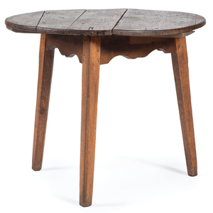 A New England Federal Pine Tavern Table