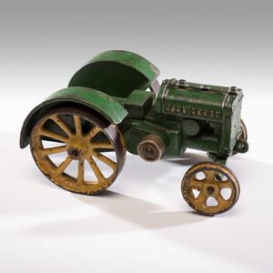 A Vindex Cast Iron John Deere Tractor