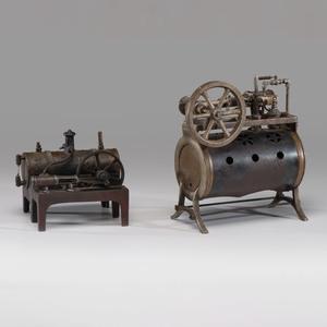 Two Weeden Steam Engines