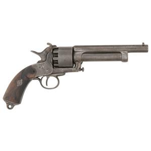Second Model LeMat Percussion Revolver