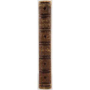 [Literature - Mark Twain]  Tom Sawyer, Publisher's Deluxe Binding