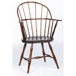 A Sack Back Windsor Armchair