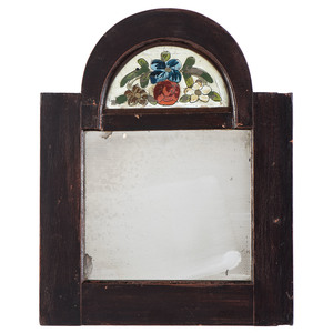 A New York Federal Courting Mirror with Reverse-Painted Tablet