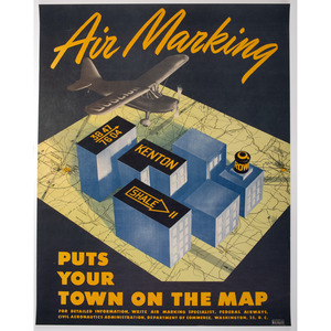 Series of 5 Diamond Aircraft Chains WWII Posters, Plus