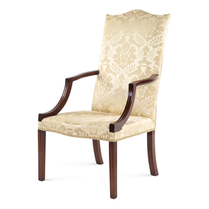 A Federal Mahogany Lolling Chair