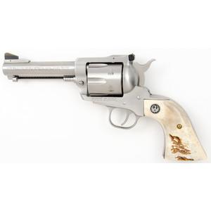 *Ruger Stainless Steel Blackhawk Revolver