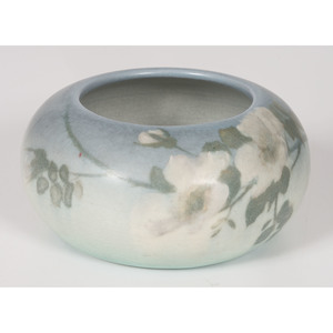 A Rookwood Pottery Vellum Glaze Bowl, decorated by Ed Diers