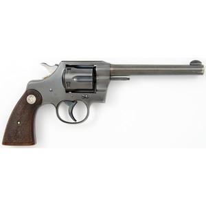 ** Colt .22 Official Police Revolver