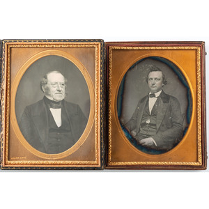 Four Half Plate Daguerreotypes of Gentlemen