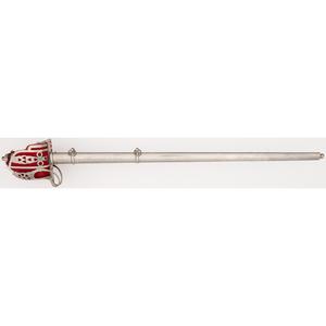 Wilkinson British Highland Officer's Sword of Lieutenant James Ritchie, 3rd Gordon Highlanders