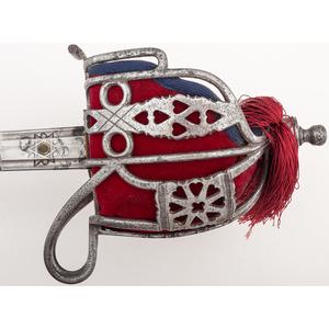 Sandilands & Son Victorian Highland Officer's Sword, Highland Light Infantry