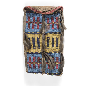 Northern Plains Beaded Pouch
