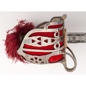 Scottish Officer's Basket Hilt by Wilkinson for Captain Lt. Charles E.P. Coupland