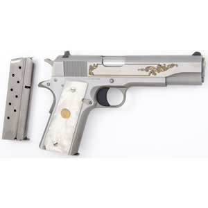 * Colt Government Model 38 Super Caliber