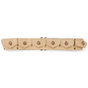 Mills Khaki Cartridge Belt