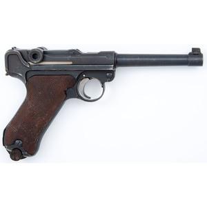 ** Finnish-Marked DWM Luger P.08  Pistol