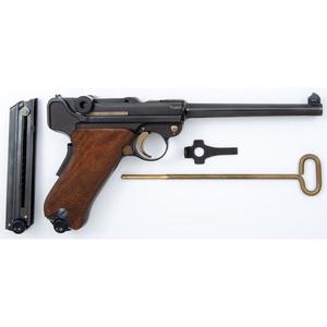 ** Interarms Mauser P08 Parabellum Navy Luger Pistol