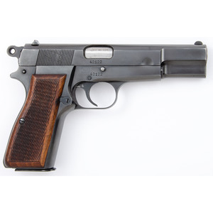**Early Fabrique Nationale Hi Power P35 Pistol