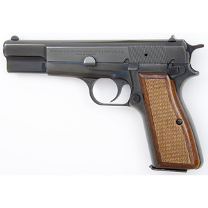 ** Belgian Browning Hi Power in Browning Pouch