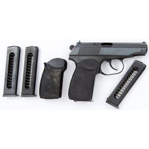 ** German Makarov Pistol with Three extra Magazines