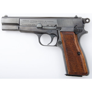 ** Belgian Browning Hi Power Pistol in Box