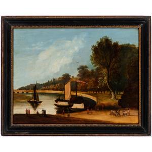 A Continental Coastal Scene
