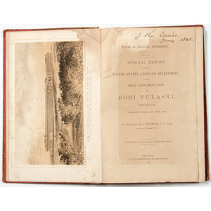 First Edition Siege and Reduction of Fort Pulaski