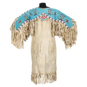Sioux Beaded Hide Dress