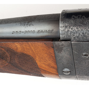 **An Important Factory Engraved Savage Rival Grade Model 99, Made for the Pan-Pacific Exhibition and Later Sold to P.J. Noel