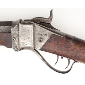 Model 1874 Sharps Buffalo Rifle Shipped To Dodge City Kansas In 1877, with Factory Letter