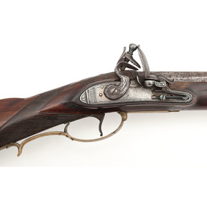 Fullstock Flintlock Rifle