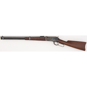 An Excellent Winchester Model 1886 SRC with Case Colored Frame