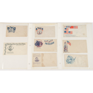 Civil War Patriotic Covers and Other 19th Century Printed Cards and Advertisements