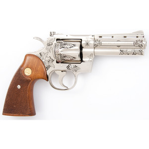 * Custom Engraved Colt Python