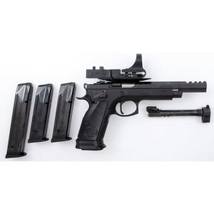 * CZ 75 TS Czechmate with C-More Optic Systems