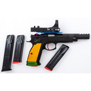 * CZ 75 TS Czechmate with C-More Optics Systems