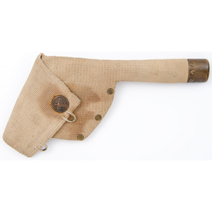 Unmarked Mills Type Holster for .38 Revolver