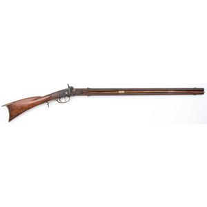 Percussion Swivel-Barrel Long Rifle