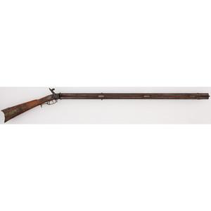 Percussion Swivel Barrel Rifle by J. S. Johnston