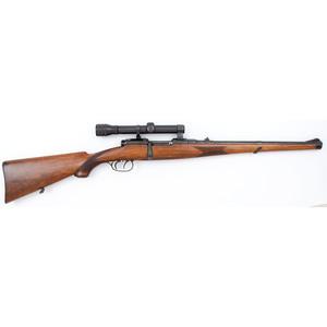**Austrian Steyer Rifle with Scope