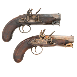 Pair of Flintlock Pistols by Beckwith of London