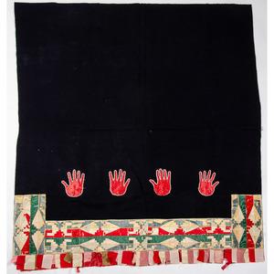 Osage Wool Blanket with Silk Ribbonwork