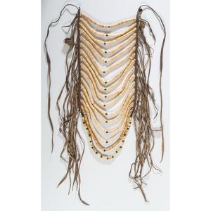 Apsaalooke (Crow) Bone Loop Necklace, From the Stanley B. Slocum Collection, Minnesota