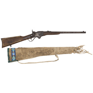 Model 1865 Spencer Carbine Attributed to Kit Carson