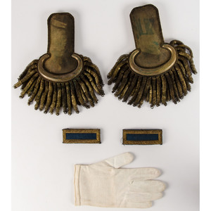 Lieutenant Gershom Tomlinson, 83rd Ohio Infantry, Epaulets, Shoulder Boards, Tintype, and More